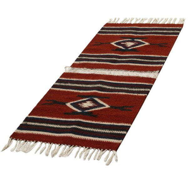 100% Wool Table Runner by Novica